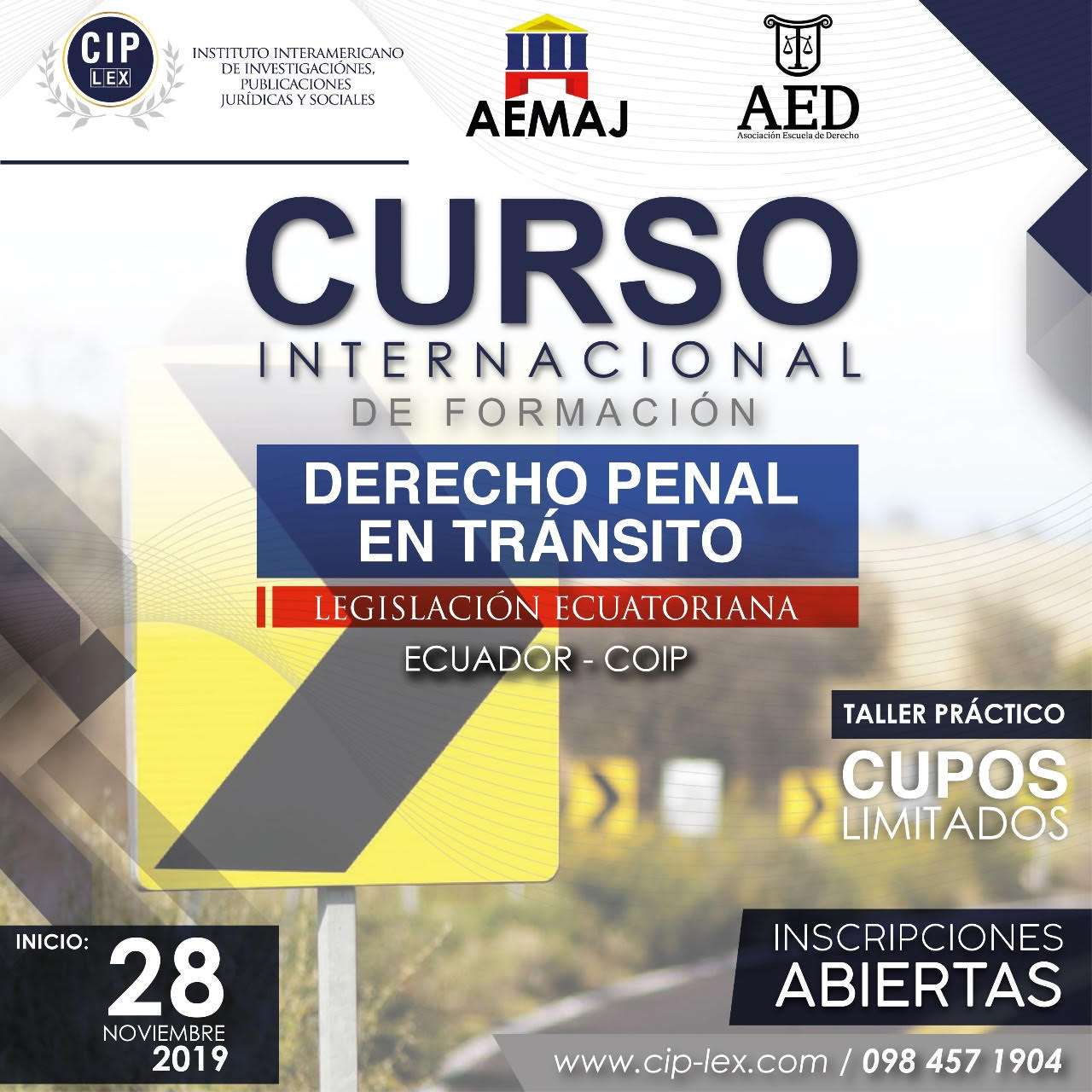 Curso Internacional de Formación de Derecho Penal en materia de Tránsito