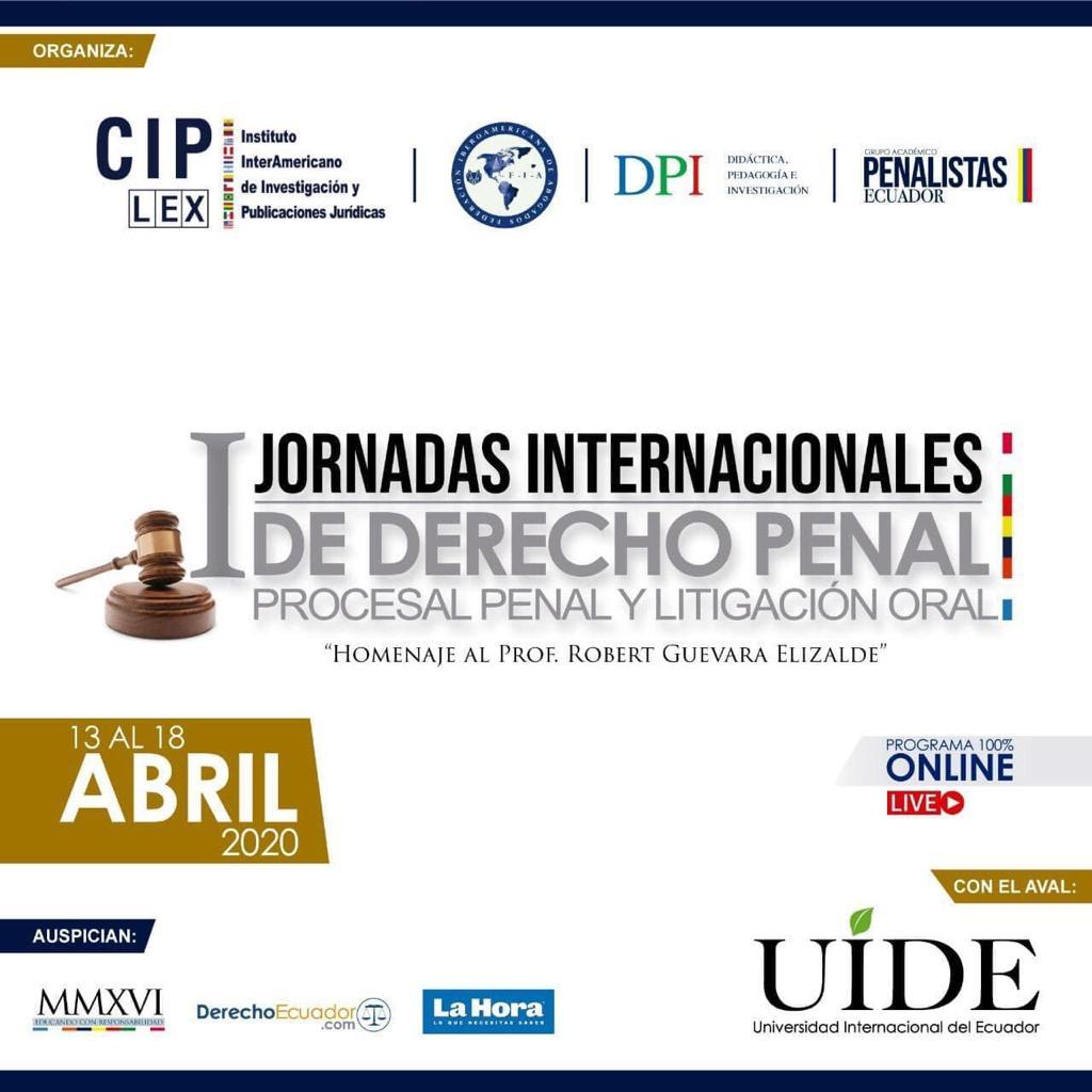 Jornadas Internacionales de Derecho Penal