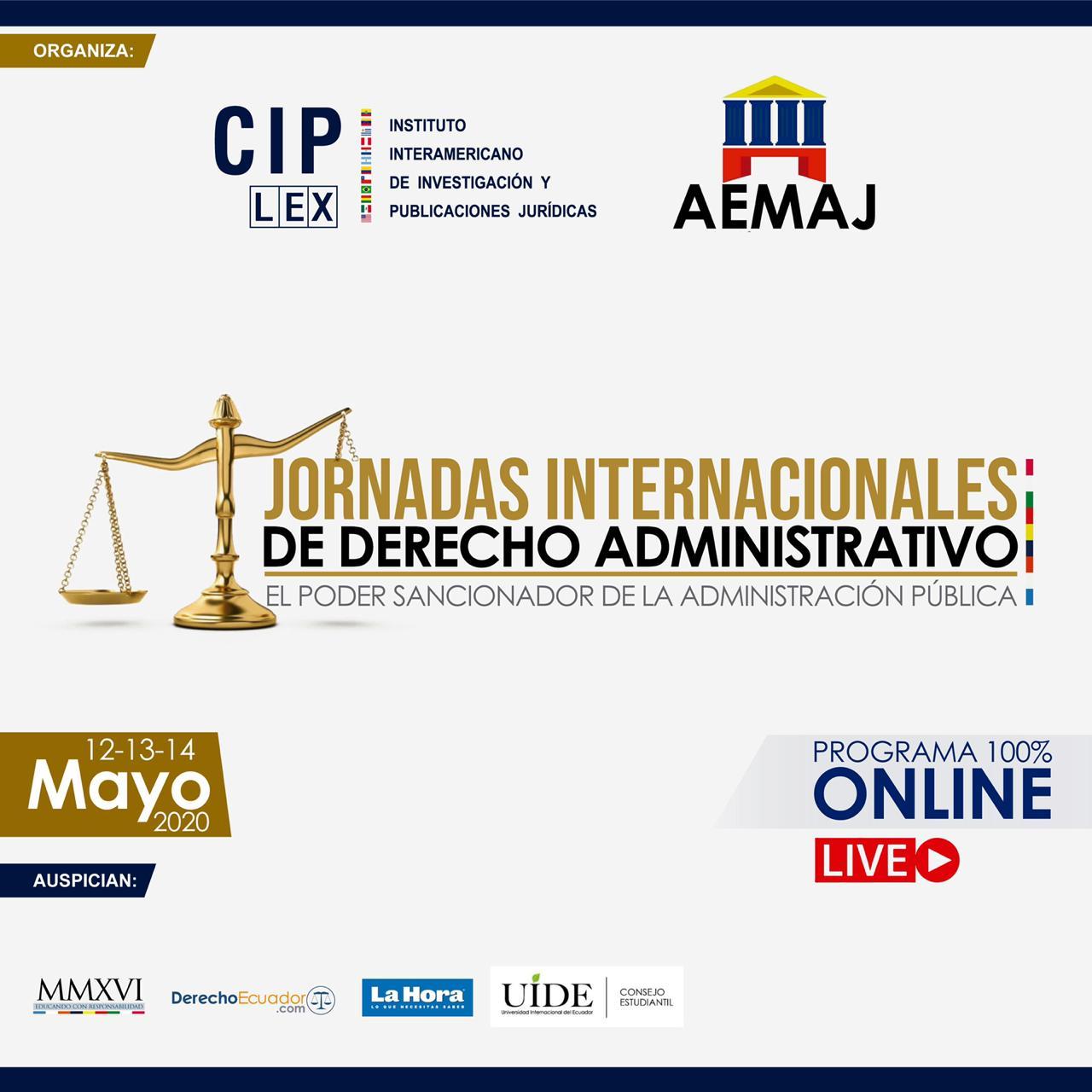 Jornadas Internacionales de Derecho Administrativo