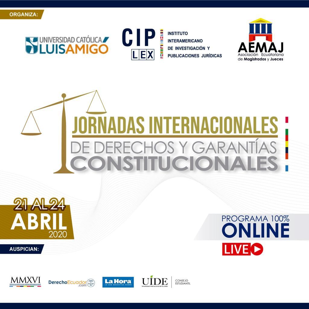 Jornadas Internacionales de Derechos y Garantías Constitucionales