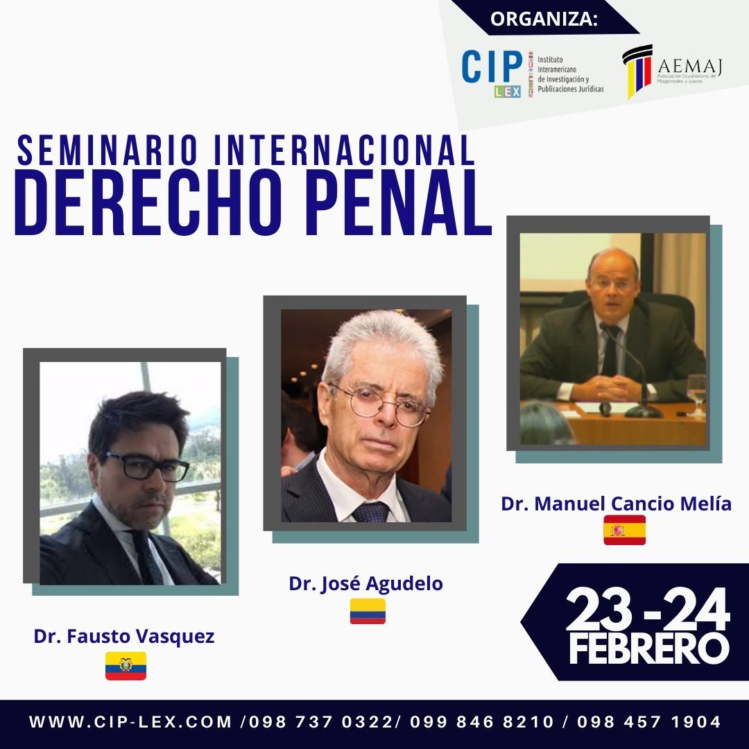 Seminario Internacional en Derecho Penal