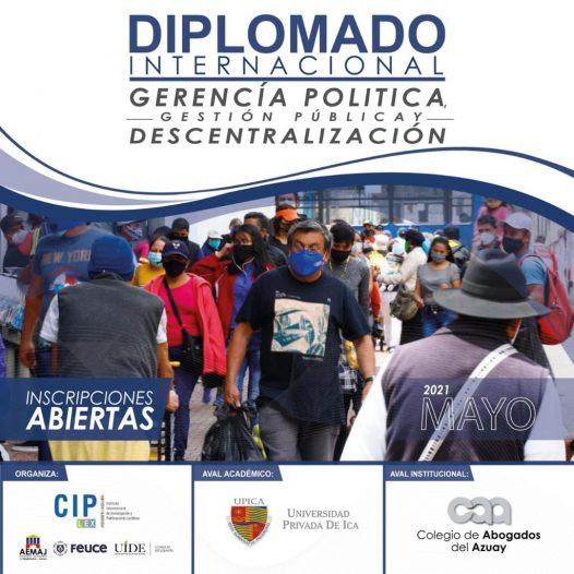 Diplomado Internacional en Gerencia Política, Gestión Pública y Descentralización